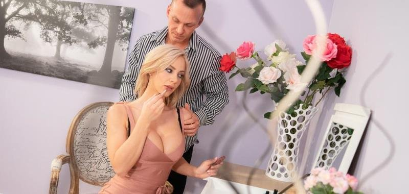 Nathaly Cherie - Slow romantic fuck in stockings (Blowjob) [SD] - MomXXX.com