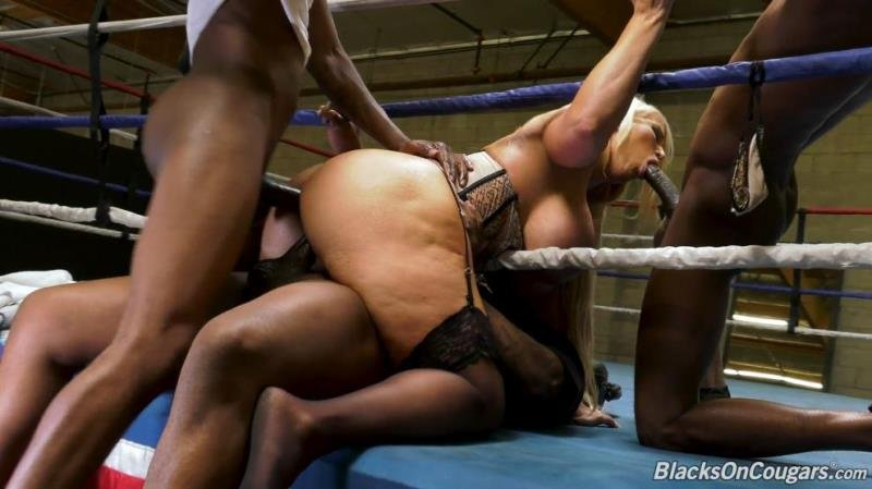 Alura Jenson - Foursome (Blowjob) [SD] - BlacksOnCougars.com