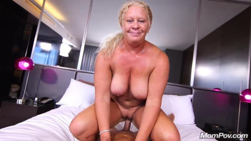 Lila - Curvy blonde natural MILF (Blowjob) [SD] - MomPov.com