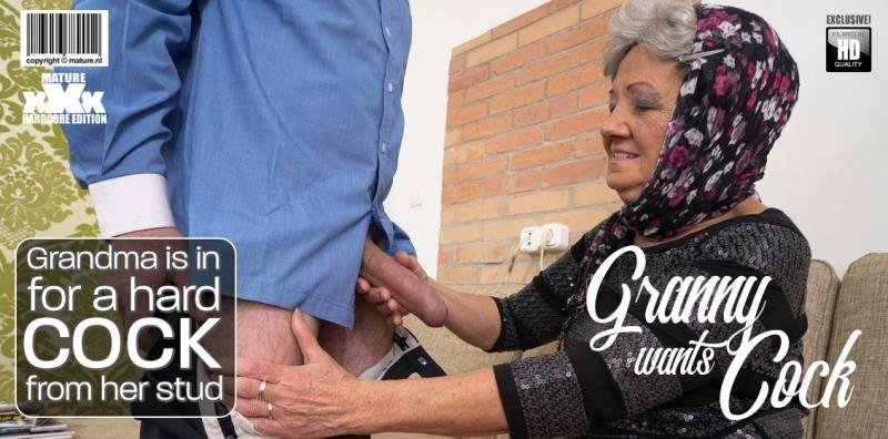 Hanna D - Grandma is in for a hard cock from her stud () [SD] - Mature.nl