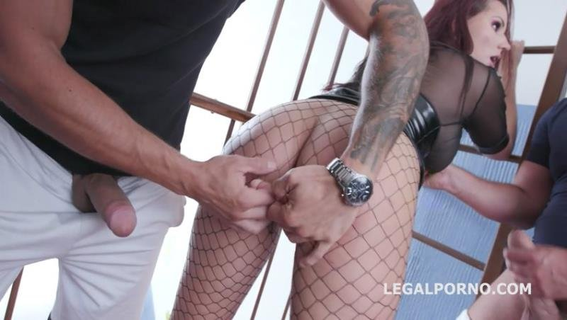 Jolee Love - Jolee Love 10on1 DAP Gangband with Balls Deep Anal, Gapes, DAP and Swallow GIO1155 (Gangbang) [SD] - LegalPorno.com