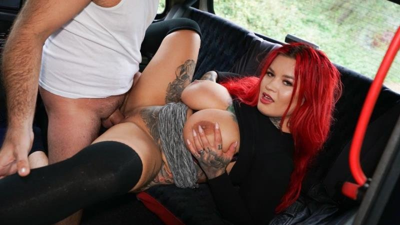Sabien DeMonia - Huge boobs and the mechanic (Blowjob) [SD] - FakeHub.com / FemaleFakeTaxi.com