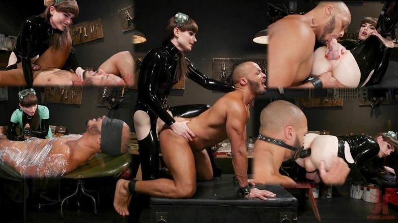 Natalie Mars, Dillon Diaz - Latex Predator: Natalie Mars Captures and Fucks Dillon Diaz (Latex, Rubber) [SD] - Kink.com