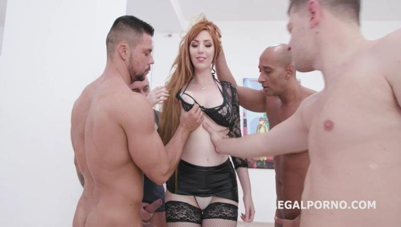 Lauren Phillips - Manhandle, Lauren Phillips gets 4on1 rough sex with Balls Deep Anal, DAP, Gapes and Swallow GIO1270 (Gangbang) [SD] - LegalPorno.com