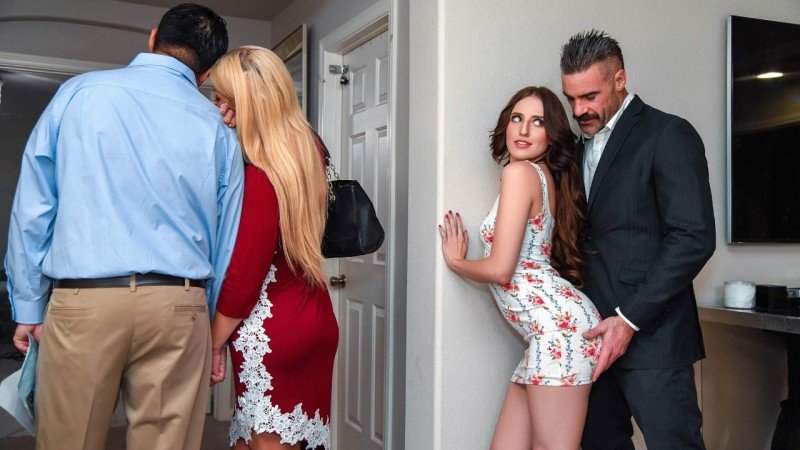 Aubree Valentine - Open House For A Slut (Teen, Young) [SD] - SneakySex.com/Realitykings.com