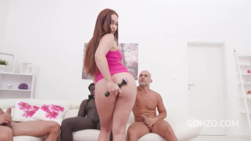 Ginebra Bellucci, Cristian Clay, Angelo Godshack, Freddy Gong - Ginebra Bellucci 3on1 fuck session with DP, DAP DVP SZ2269 (2019) SD 480p (Gangbang) [SD] - LegalPorno.com