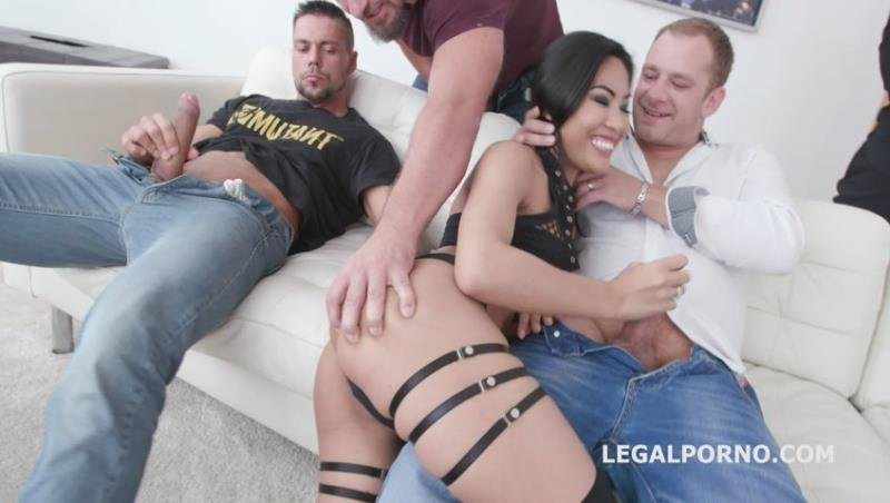 Polly Pons - 7on1 Double Gangbang with Polly Pons Balls Deep Anal, DAP, Gapes and Facial GIO1267 (Gangbang) [SD] - LegalPorno.com
