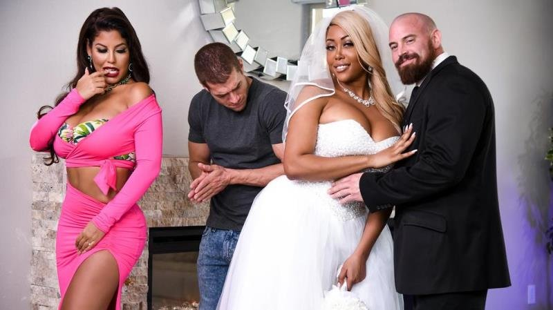 Bridgette B, Moriah Mills - Moriah's Wedding Shower (Blonde) [SD] - Brazzers.com