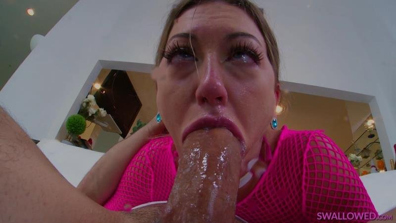 Adira Allure - Adira Has Super Spit Powers (Blonde) [SD] - Swallowed.com