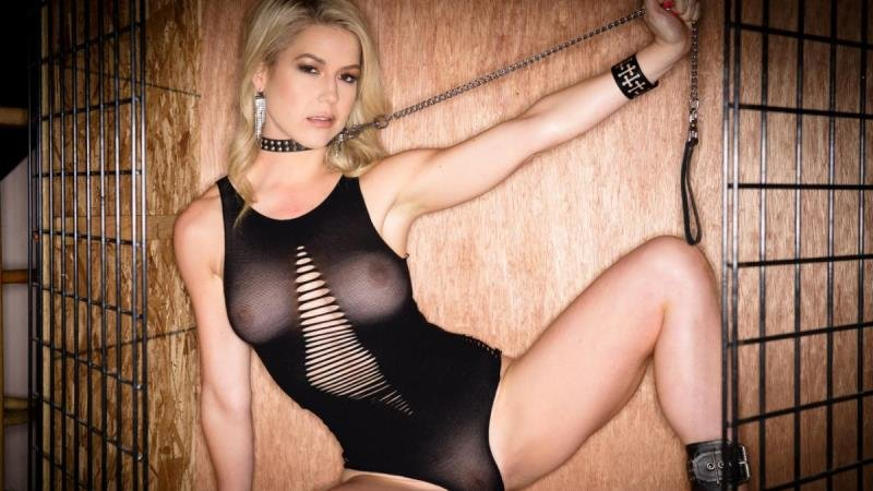Kit Mercer - Milf Blonde Kit Mercer Sex Bondage (Blonde) [SD] - Spizoo.com