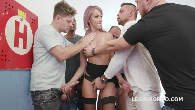 Vicky Sol - 7on1 DAP Gangbang with Vicky Sol Balls Deep Anal, Rough Action, Gapes and Cumswallow GIO1246 (Gangbang) [SD] - Legal