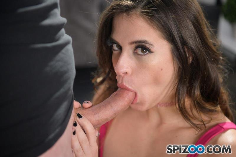Abbie Maley - The Fit Hottie Abbie Maley is Johnny's Surprise (Blowjob) [SD] - Spizoo.com