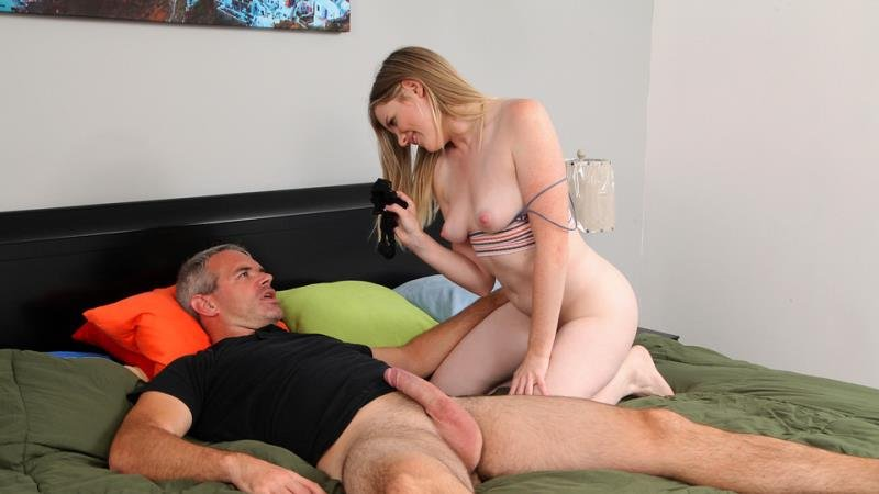 Nikki Sweet - Teaching Daddy A Lesson (Blonde) [SD] - StepSiblingsCaught.com / Nubiles-Porn.com