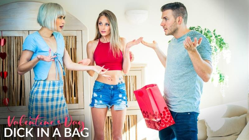 Jessie Saint  Kyler Quinn - Valentines Day Dick In A Bag (Blonde) [SD] - Valentines Day Dick In A Bag