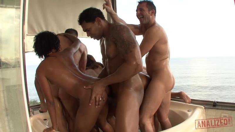 Amy Castro, Belinha - Brazilian Anal Whore Orgy (Hardcore) [SD] - Analized.com