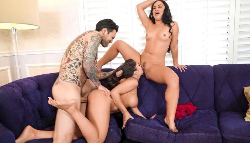 Kristina Rose, Tru Kait - Two Wives, One Cock (Blowjob) [SD] - BrazzersExxtra.com