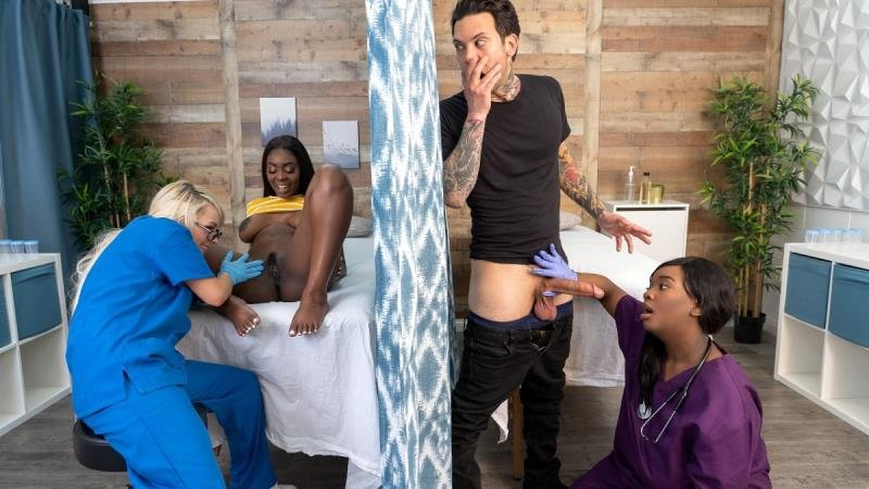 Tori Montana, Barbie Crystal, Ava Sinclaire - Fucking The Fertility Clinic Nurses: Part 1 (Big Tits) [SD] - RKPrime.com